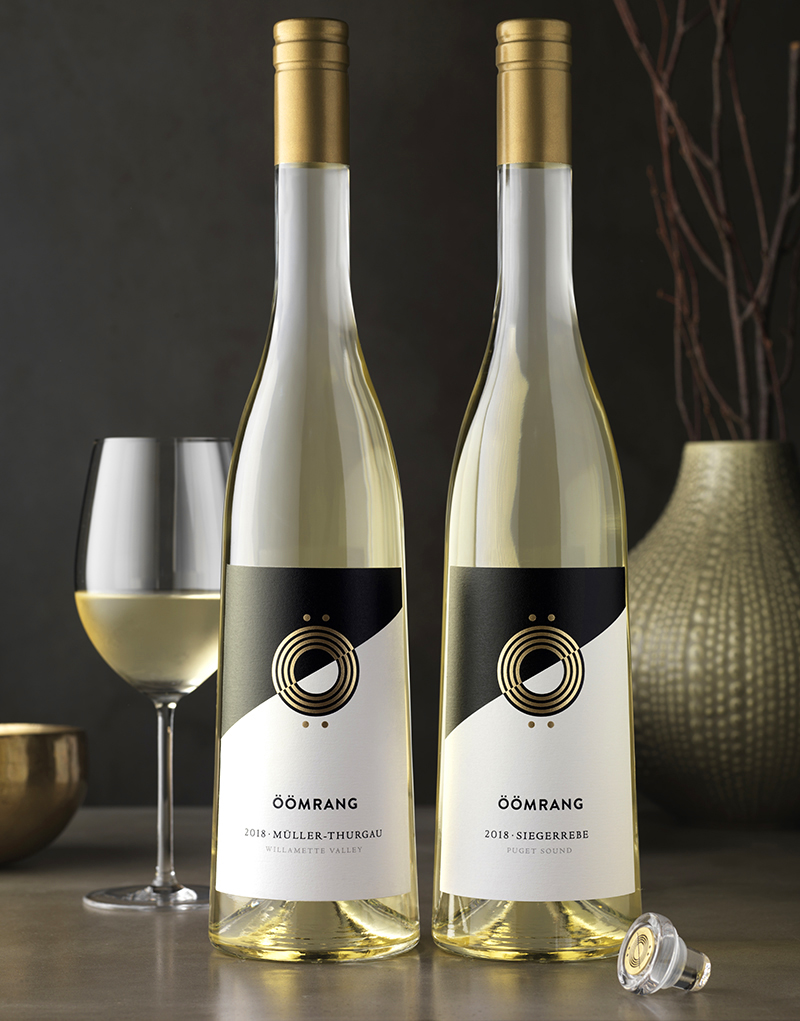 Öömrang Wine Packaging Design & Logo