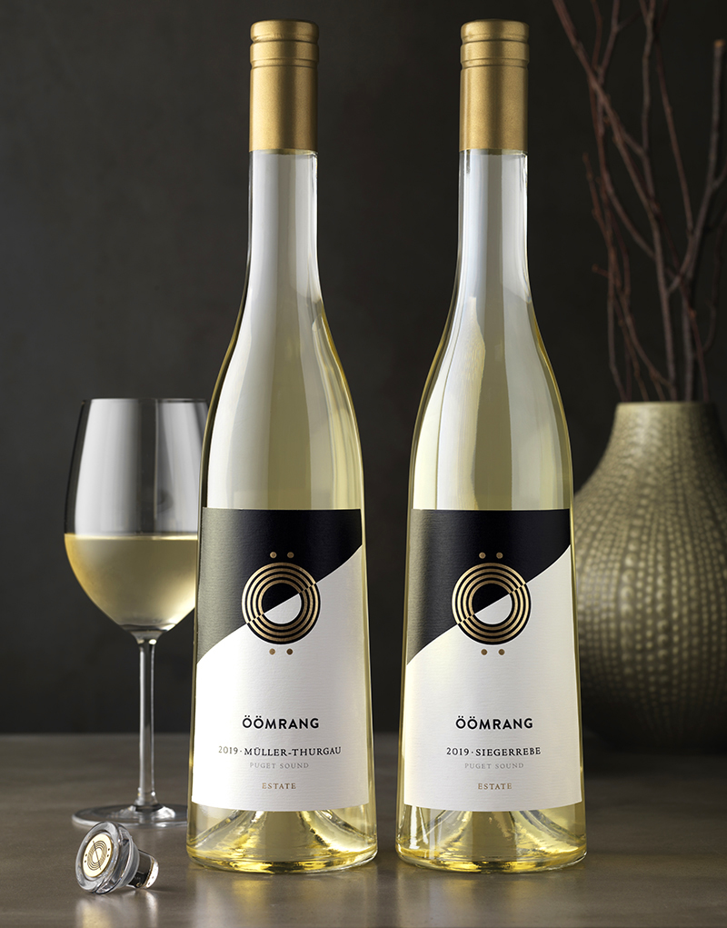 Öömrang 2019 Estate Wine Packaging Design & Logo