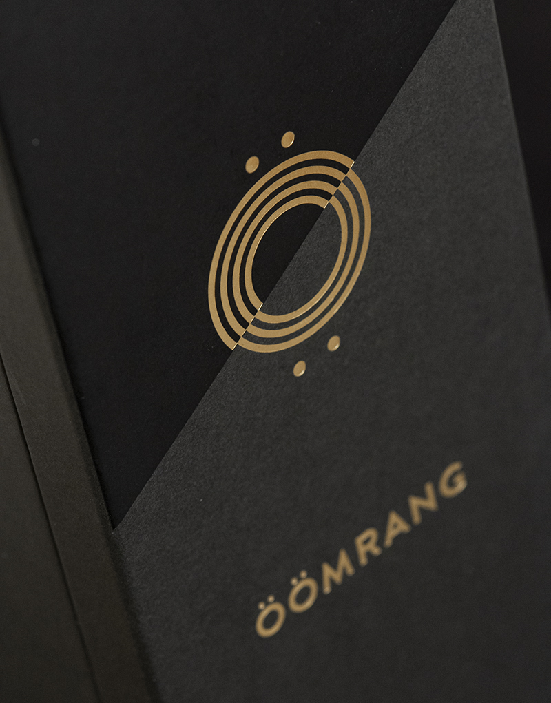 Öömrang Gift Box Design Detail