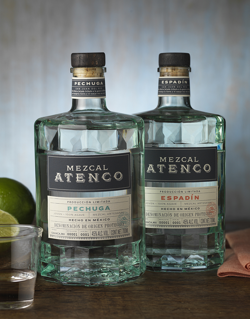 Mezcal Atenco Packaging Design and Logo