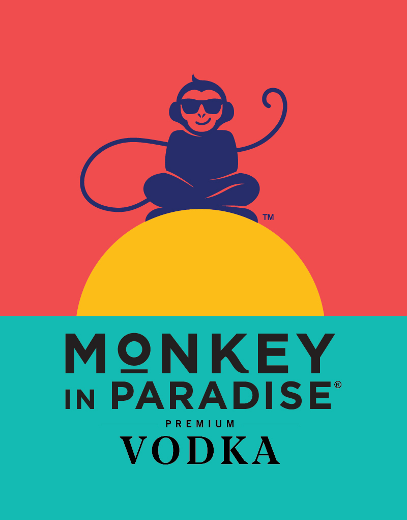 Monkey In Paradise Logo Design
