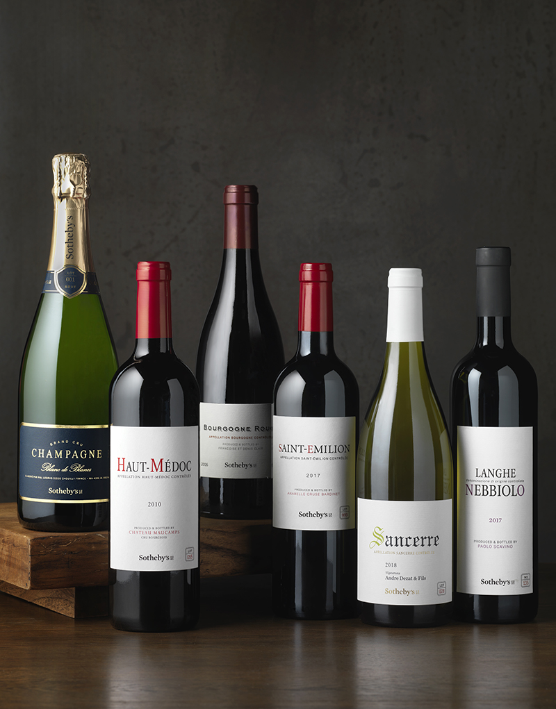 Sotheby's Wine Packaging Design & Logo