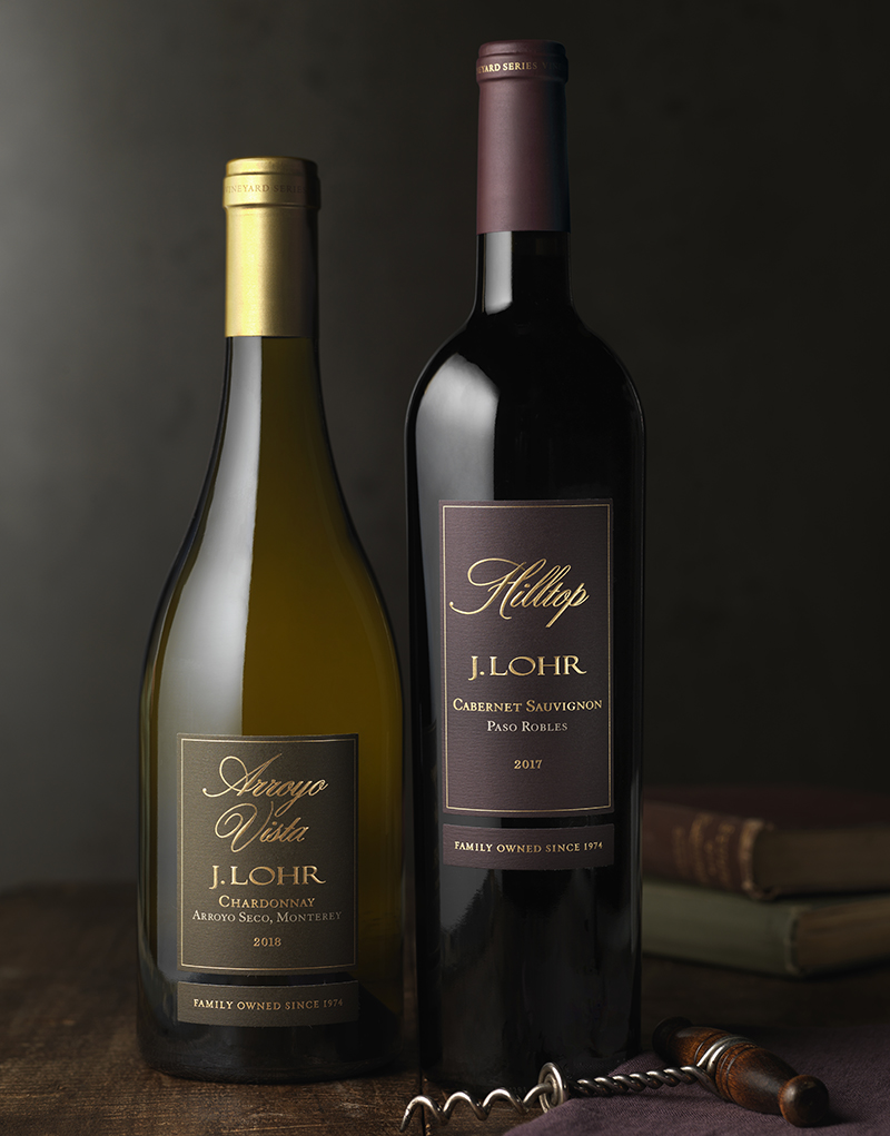 J. Lohr Vineyards & Wines Packaging Design & Logo