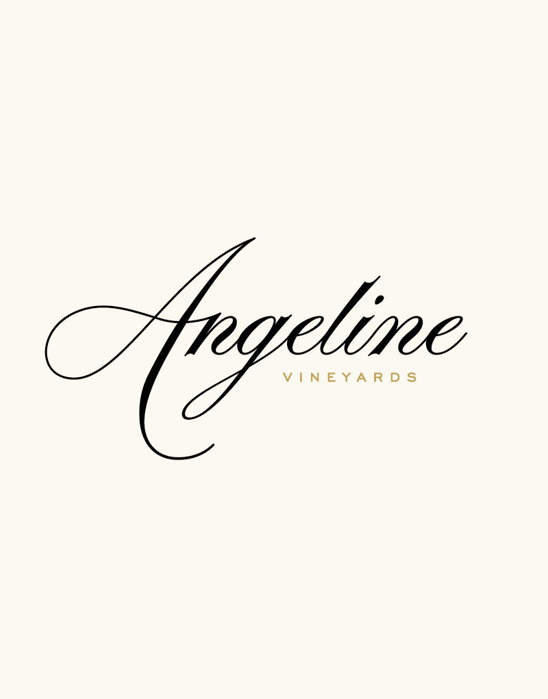 Angeline Vineyards Logo Design