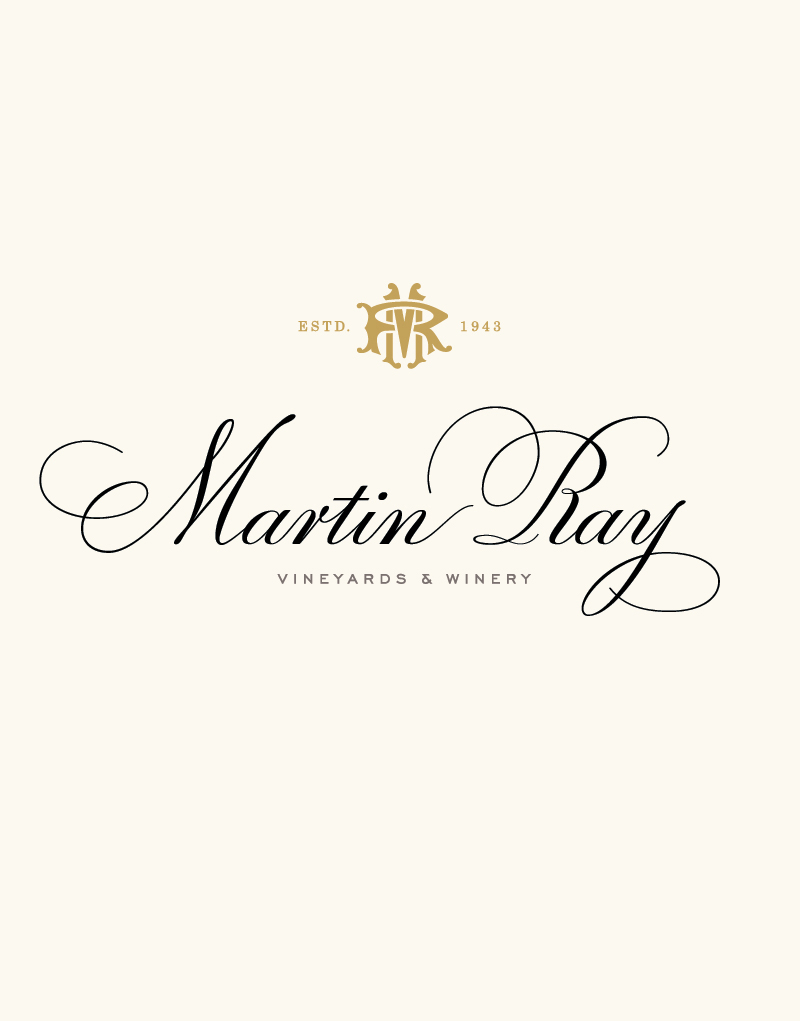 Martin Ray Vineyards & Winery Logo Design
