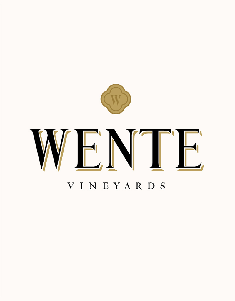 Wente Vineyards Logo Design