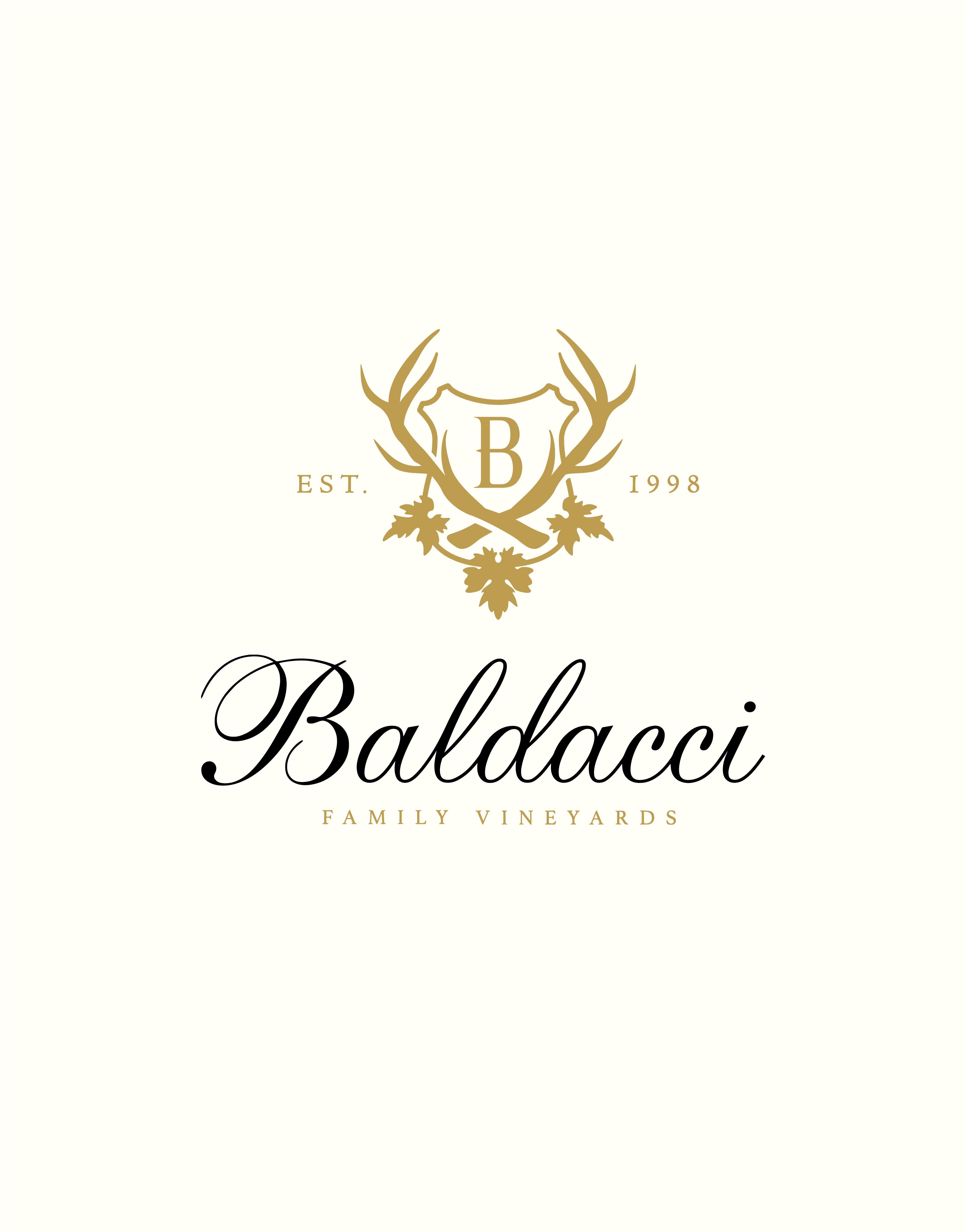 Baldacci Family Vineyards Logo Design